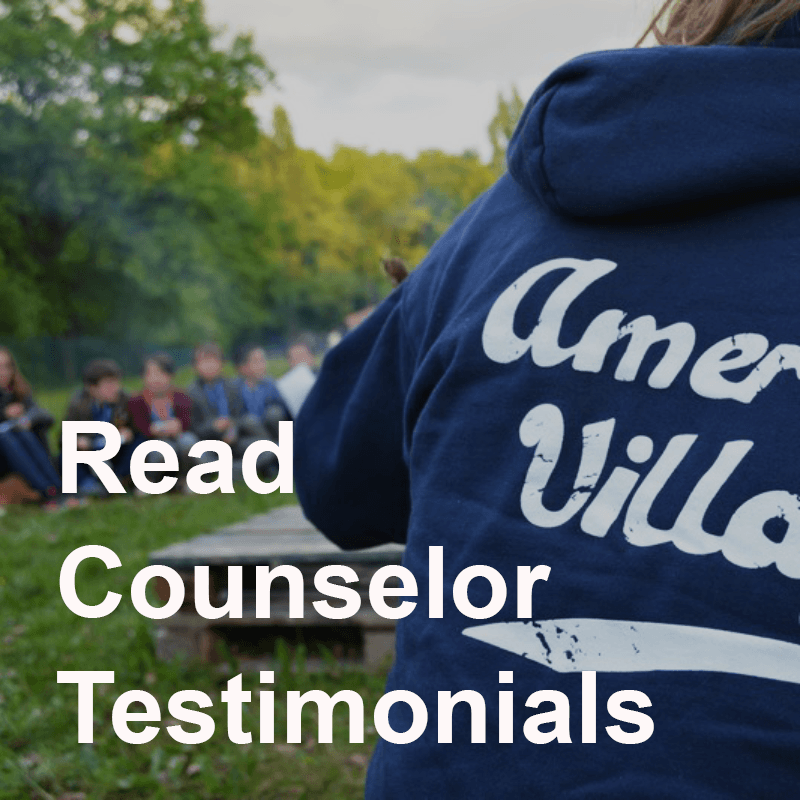 American village counselor testimonials
