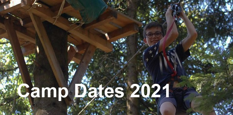 American Village Camp dates 2021