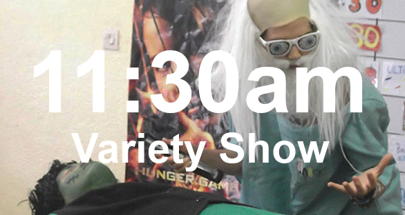 11.30am variety show