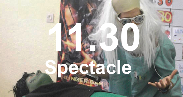 11h30 spectacle